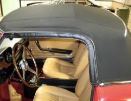 Ferrari 275 GTS beige upholstery