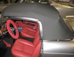 Ferrari 275 GTS red upholstery