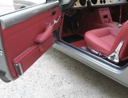 Ferrari 250 GTE red upholstery