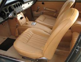 Ferrari 250 GTE beige upholstery