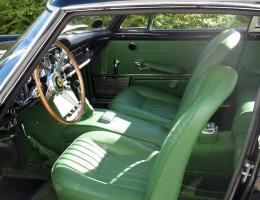 Ferrari 250 GTE green upholstery